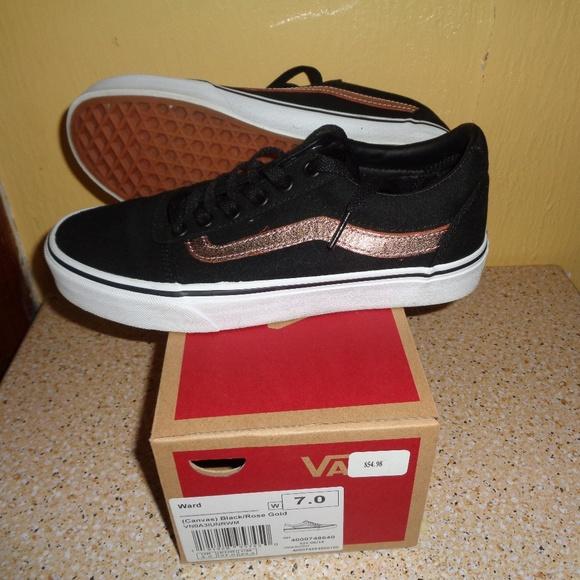 Vans Shoes   Vans Canvas Ward Black